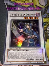 OCCASION Carte Yu Gi Oh SORCIERE DE LA CALAMITE SOVR-FRSE1
