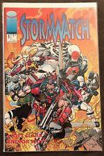 Stormwatch 1 VF MARCH 1993 Image Comics Jim Lee