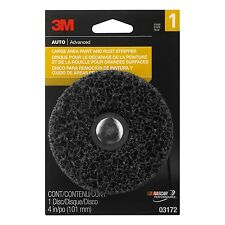 """3M 4"""" (101mm) LARGE AREA PAINT & RUST STRIPPER Grinding Disc for Electric Drill"""