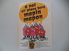 advertising Pubblicità 1967 CAFFE' BOURBON BOUR BON
