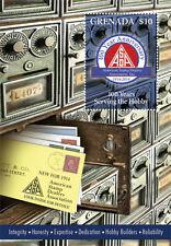 Grenada-2014-100th Anniversary of American Stamp Dealers Association