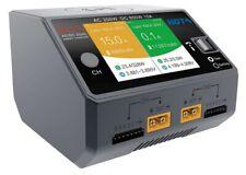 HOTA D6 Pro Dual Smart Lipo-Ladegerät AC/DC 2 x 325W 15A LCD Farbdisplay, NEU!