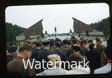 1950s red border kodachrome Russian War Monument #5 Berlin Germany   BER2