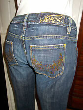 Pantalon droit taille basse coton bleu KAPORAL Puma diamant W29 36/38FR 17JA2