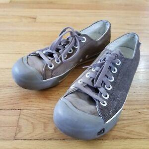 Keen Coronado Canvas Sneakers Lace Shoes Womens Tan Casual US 9 / EU 39.5