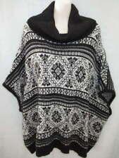 Pure DKNY Black Cream Alpaca Sweater M L