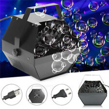 Electric Bubble Blower Machine Maker Blower Portable DJ Kids Wedding Xmas Party