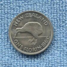 1965 Florin NZ New Zealand  Coin EX MINT SET S-854