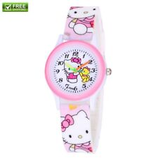 New Women's Watch Hello Kitty Fashion Watches for Kids Children Gift Free Ship