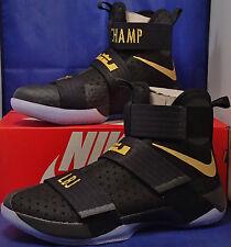 92c9192c4d Nike Zoom Lebron Soldier 10 X iD Championship Pack Black SZ 9.5 ( 885682-991