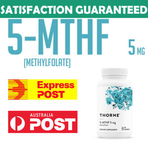 Thorne Research 5-MTHF 5 mg Folate Active 5MTHF Vitamin B9 | 60 capsules | AU