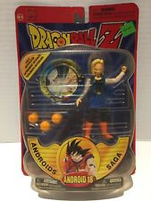 DRAGONBALL Z Androids Saga Android 18 Action Figure by Irwin Toy 2000