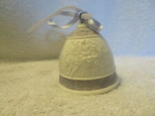 A Vintage Lladro 1993 Christmas Porcelain Bell