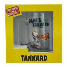 OFFICIAL ONLY FOOLS AND HORSES DAVES TANKARD RODNEY BEER GLASS NEW & GIFT BOXED