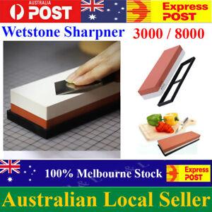 3000/8000  Dual Whetstone Waterstone Knife Sharpening Water Wet Stone Sharpener