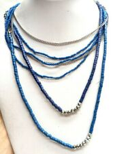"Multi Strand 28"" Necklace! 4017H Vintage Estate Signed Jaclyn Smith Nwt"