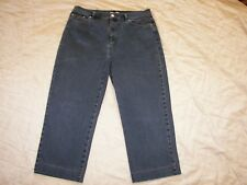 Jones New York Signature Stretch Capri Crop Jeans - Size 8