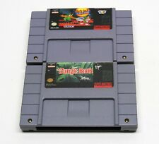 SNES The Jungle Book & Daffy Duck TESTED AUTHENTIC FAST FREE SHIP Super Nintendo