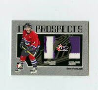 06-07 ITG HEROES & PROSPECTS GAME-USED PATCH & JERSEY BEN MAXWELL *69275