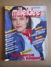 MILLEIDEE n°9 1991 - rivista di moda e lavori femminili  [G582]