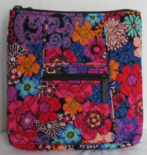Vera Bradley Women Women's Purse Shoulder Bag Hipster FLORAL FIESTA flowers