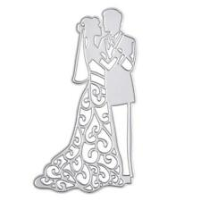Bride Groom Wedding Mr & Mrs Die Set Metal Occasion Cutting Die Cutter