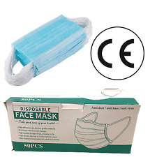 Face Mask Surgical 10/20/50 Disposable Mouth Guard Cover Face Masks Respiration