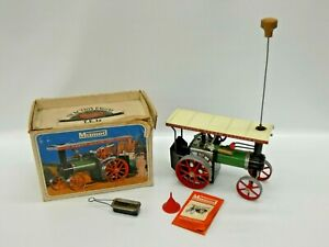 Mamod Steam Tractor Boxed Instructions Funnel Burner Steering Rod