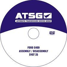 ATSG 36400EH E4OD UpdateCD (89-95) Ford E4OD Transmission Update