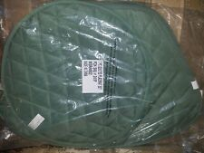 Quilted Placemat Set Olive Green 7 Piece Wedge Shaped - Brand New