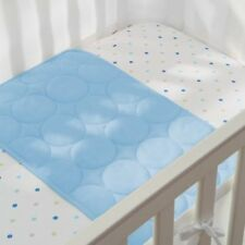 "BreathableBaby Crib Sheet Saver Plush Waterproof Wick Dry Fabric Mat 27"" x 14"""
