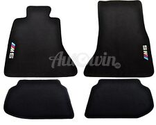 BMW M5 Series F10 F10LCI Black Carpets With ///M5 Emblem 2010-2015 Model LHD