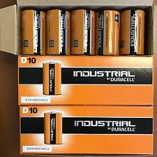 20 x Duracell D Size Industrial Procell Alkaline Batteries LR20 MN1300 D Cell