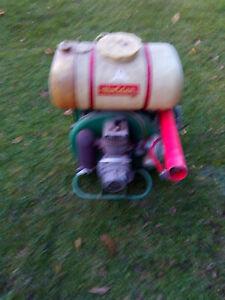 Holder Motorspritze, Motorsprühgerät, Rückenspritze mit Benzinmotor