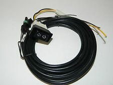 NEW Replacement Electric Exhaust Cut Out Wiring Harnesses with Switch