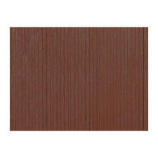 Wall planks brown OO gauge Building model materials (Plastic) Auhagen 52420