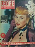 LE ORE N.80 1954 MARTINE CAROL
