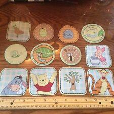 Disney Winnie the Pooh Tigger Eeyore Piglet  Fabric Iron On Appliqués style #6