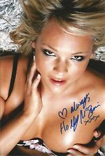 Holly McGuire Signed 12x8 Photo With Proof AFTAL