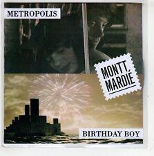 (GT949)  Montt Mardie, Metropolis / Birthday Boy  - DJ CD