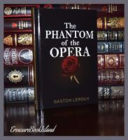 The Phantom of the Opera by Gaston Leroux Brand New Deluxe Hardcover Gift