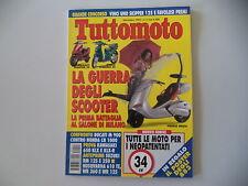 TUTTOMOTO 11/1993 SUZUKI RM 125 250/HUSQVARNA TE 610/WR 360/DUCATI M MONSTER 900