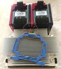 New HP DL380 DL380p G9 Xeon CPU Kit, Heatsink 747608-001 & 2 Fans 747597-001