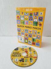 Nintendo Wii U Video Game - Super Mario Maker - FREE POST UK