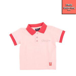 CHAMPION Polo Shirt Size 12M / 80CM Two Tone Short Sleeve