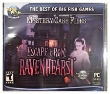 MYSTERY CASE FILES ESCAPE FROM RAVENHEARST (PC) SEALED NEW - WIN10, WIN8, WIN7