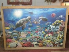 RAVENSBURGER UNDERWATER TRANQUILITY Beneath the Sea 5000pc JIGSAW FUNDRAISER co