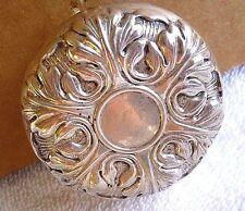 Antique Vintage Sterling Silver yo-yo  L.S.M. YOYO