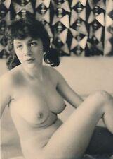 Femme nue, érotisme tirage argentique d'époque années 70 seins sexy