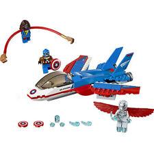Captain America Building LEGO Complete Sets & Packs